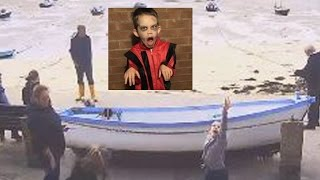 8-Year-Old Boy with Autism Caught on Webcam Doing Impressive 'Thriller' Dance