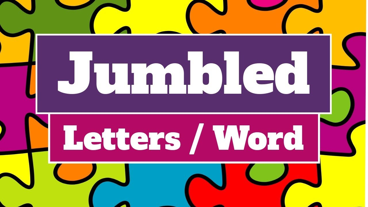 Download Jumbled Letter / Word | Rules for making meaningful word