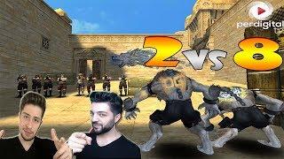 Combatstar ve Ersin Yekin OG dövmesine güvenerek 8 kişiyi karşılarına aldılar - Wolfteam #3