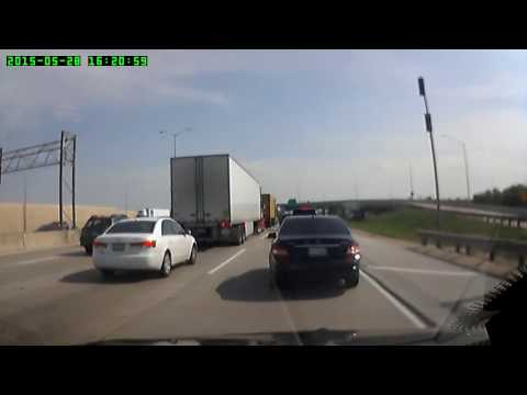RECKLESS LIMOUSINE  ON 294 S ILLINOIS PLATE 7273 LY