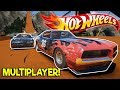 HOT WHEELS TRACK & SUPERVAN OVAL RACING! - Next Car Game: Wreckfest Release Gameplay - Car Wrecks