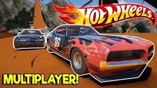 HOT WHEELS TRACK & SUPERVAN OVAL RACING! - Next Car Game: Wreckfest Release Gameplay - Car Wrecks