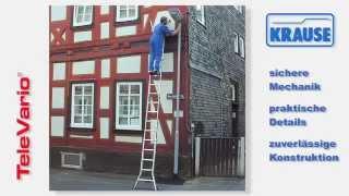 видео Лестница трансформер шарнирной конструкции