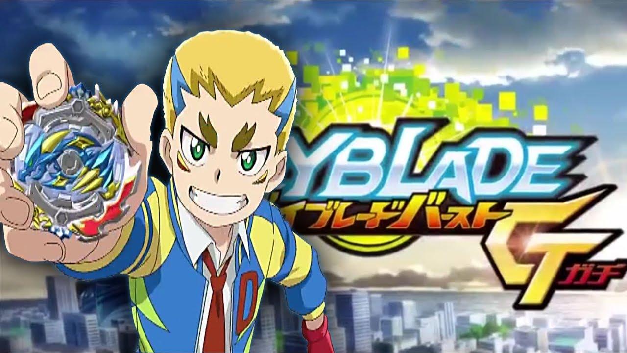 Coloriage Beyblade Burst Fafnir.Beyblade Burst Gt Episode 1 Ace Dragon Et Drum Reaction