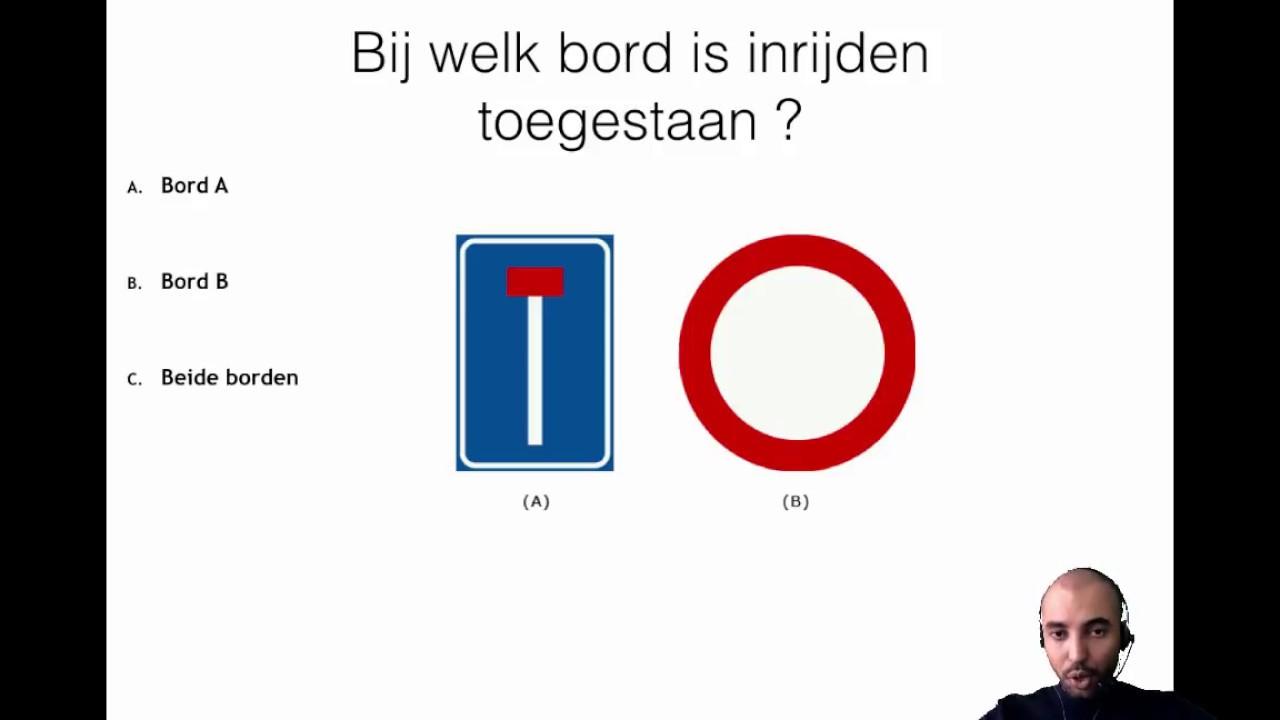 Gratis CBR theorieexamen oefenen deel 1  2019 Bekijk de andere delen op Lesplaats.nl