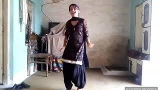 Local dance by punjabi student girl
