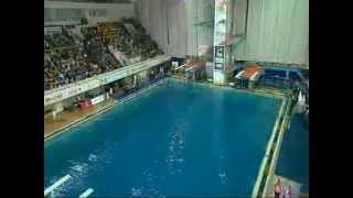 Шоу по прыжкам в воду Глеба Гальперина