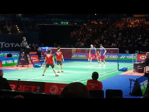 Men's Double At All England Badminton Events 2019 Sadly The World No1 One Go Out Of The First Round
