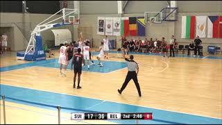 U16 Belgian Lions - Highlights vs Switzerland (2017 U16 EC - Game 3)