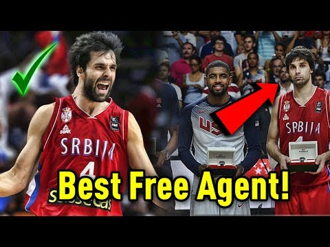 Meet Milos Teodosic: The Best NBA Free Agent That You've NEVER HEARD OF!