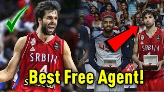 Meet Milos Teodosic: The Best NBA Free Agent That You