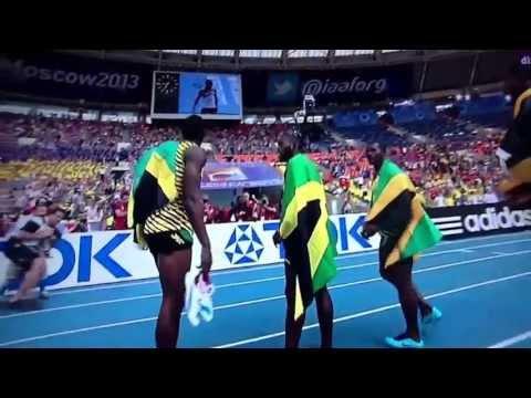 Jamaica ORO, Relevos 4x100