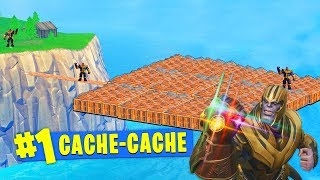 PRIVATE SERVEUR CACHE-CACHE WITH THANOS ON FORTNITE !!!
