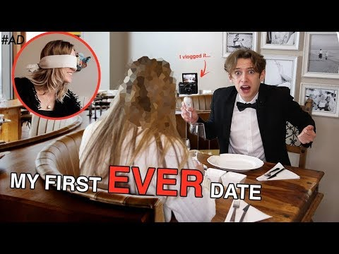 I went on my VERY FIRST DATE EVER and Vlogged it... (SET UP on 5 STAR BLIND DATE)