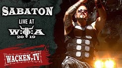 Sabaton - 3 Songs - Live at Wacken Open Air 2019