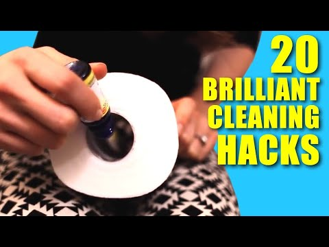 20 Brilliant Cleaning Hacks! (Clean My Space)