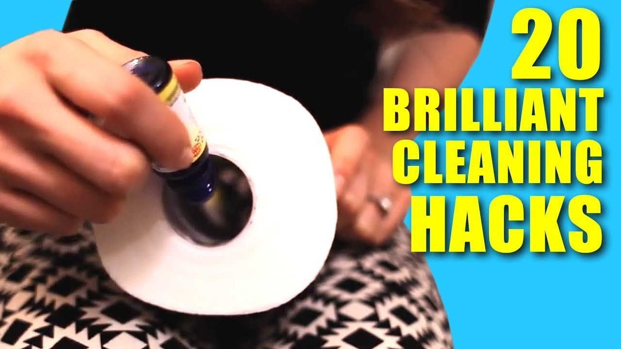 Download 20 Brilliant Cleaning Hacks! (Clean My Space)