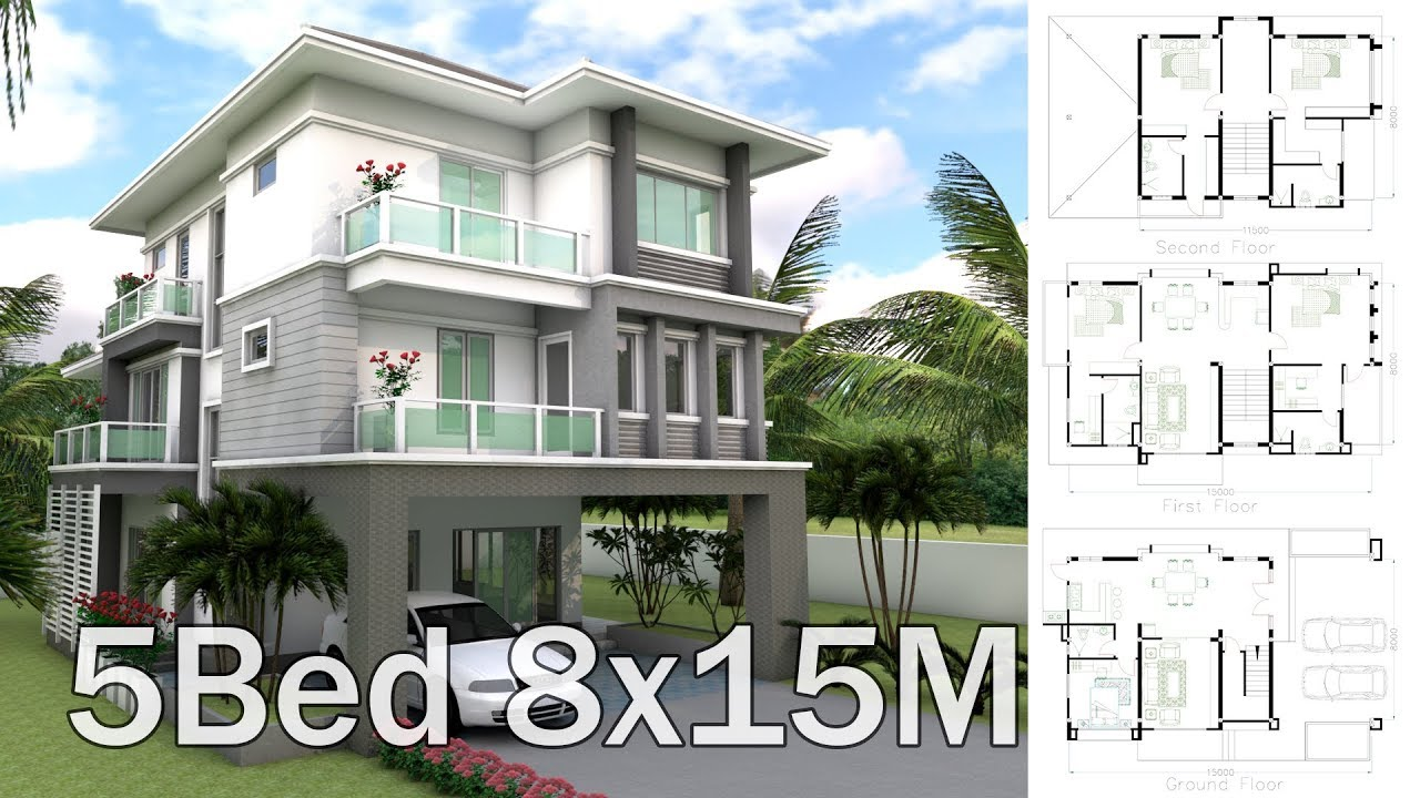 3 Story House Design Plan