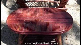 Willow Furniture - Twig Furniture Made In America.