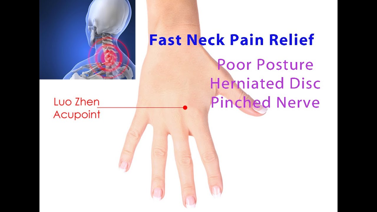 Fast Neck Pain Relief (Luo Zhen Acupoint Self-Technique ...
