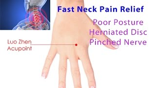 Fast Neck Pain Relief (Luo Zhen Acupoint Self-Technique) - Dr Mandell