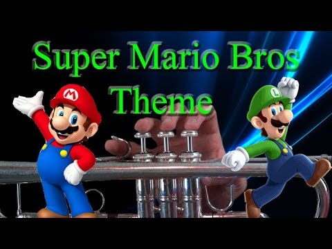 how to play the super mario bros theme on trumpet youtube. Black Bedroom Furniture Sets. Home Design Ideas