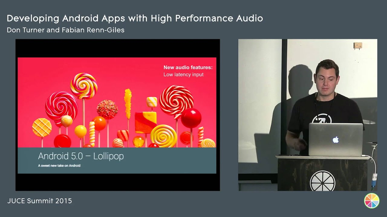 Developing Android Apps with High Performance Audio, JUCE Summit 2015