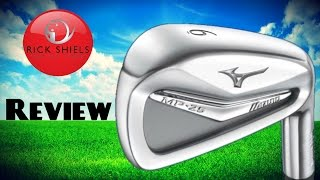 MIZUNO MP-25 IRONS REVIEW