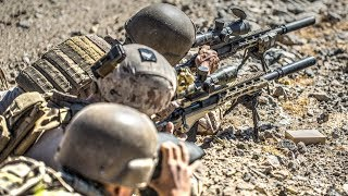 How Marine Snipers Hone Their Skills – Field Training Exercise
