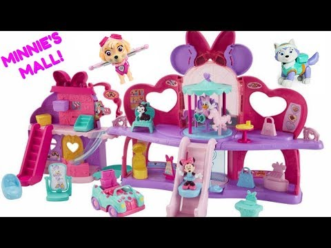 Minnie Mouse Fabulous Shopping Mall Paw Patrol