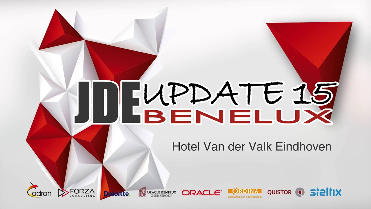 JD Edwards Update Benelux 2015