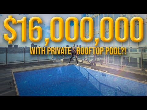 Inside a $16 Million MASSIVE NYC APARTMENT with Private Pool   Ryan Serhant
