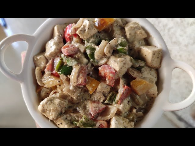Paneer Kalimirch Recipe, Indian Vegetarian meal plate ideas