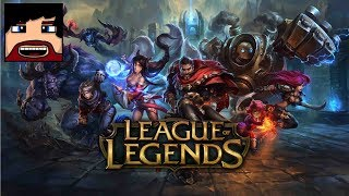 League of Legends - My first LoL Gameplay (Funny Moments)