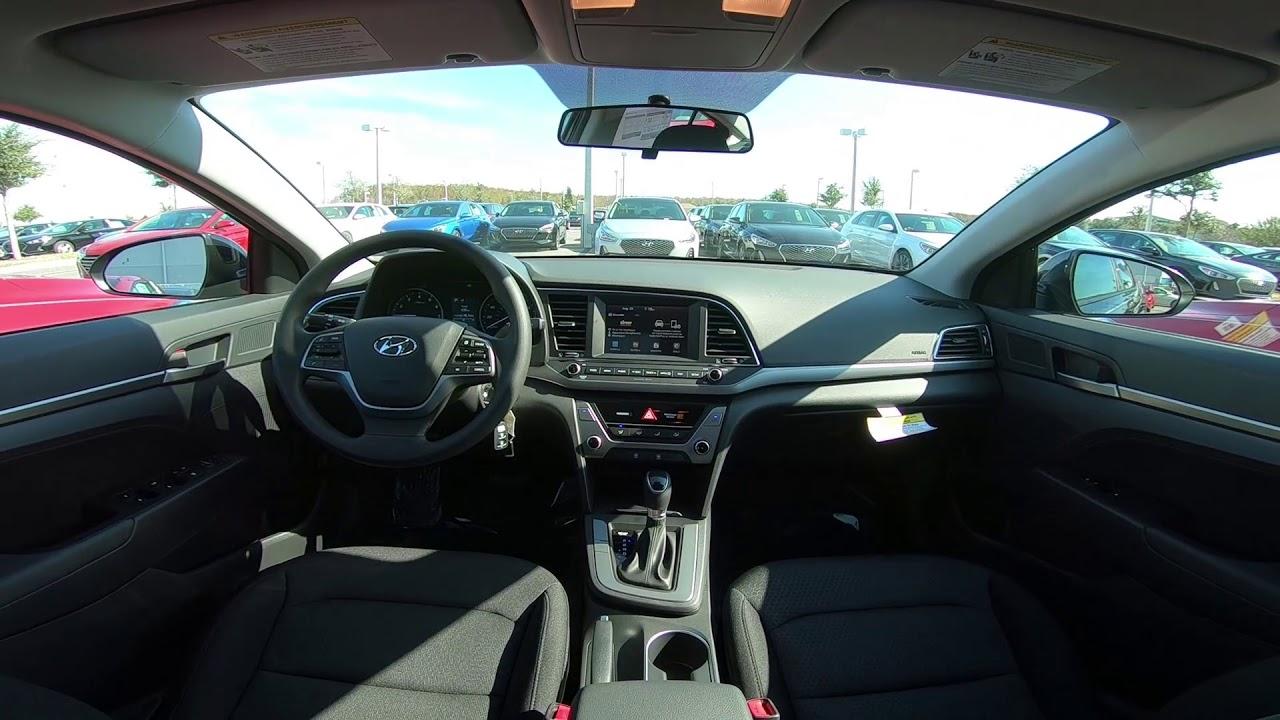 2018 Hyundai Elantra SEL Interior - YouTube