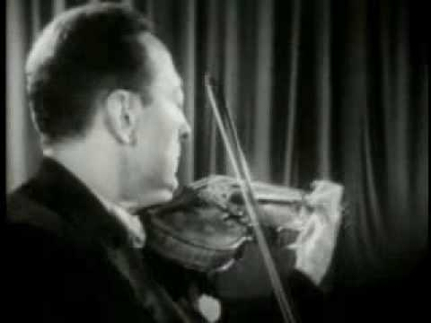 jascha heifetz plays paganini caprice no 24 youtube. Black Bedroom Furniture Sets. Home Design Ideas