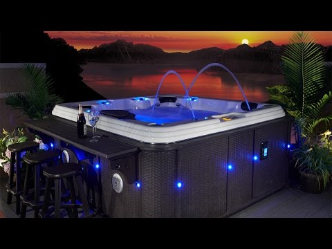 Evolution Spas Casablanca EX 110 Hot Tub Video