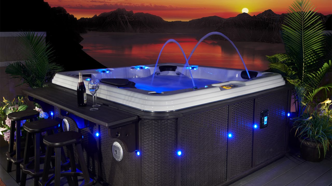 Evolution Spas Casablanca Ex 110 Hot Tub Video Youtube