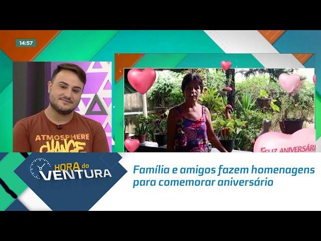 Família e amigos fazem homenagens para comemorar aniversário de Bruno Ventura