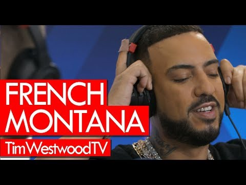 French Montana EXCLUSIVE Freestyle Saucy From New Album Montana!