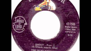 Shout   Part 1 & 2   The Isley Brothers 1959 45 RCA 7588