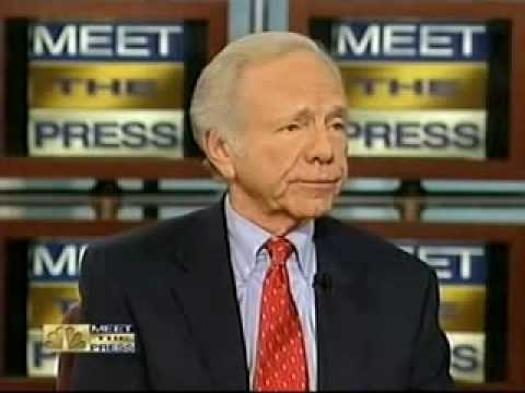 "Joe Lieberman - Meet The Press ""No Apologizes for Criticism of Obama during campaign"""