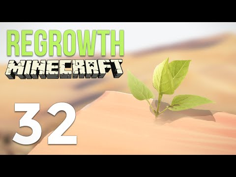 Minecraft Regrowth Modpack Ep 32: Making Fuel