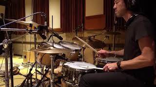Brendan Buckley: recording drums/percussion 7/25/20