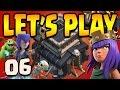 Clash of Clans: Let's Play TH9!! ep6 - LV5 Queen!!!  GiGoBArch DE farming