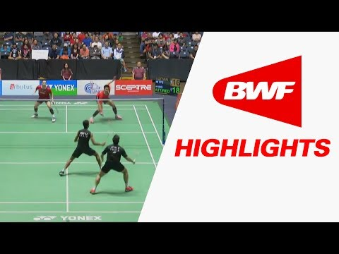 Yonex US Open 2017 | Badminton SF – Highlights