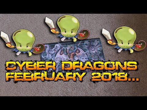 CYBER DRAGONS FEBRUARY 2018...