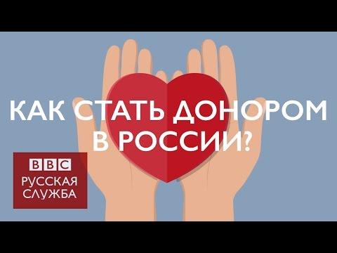 Как стать донором. Правила для России