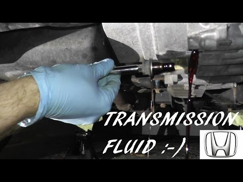 Honda Accord Automatic Transmission Fluid Change