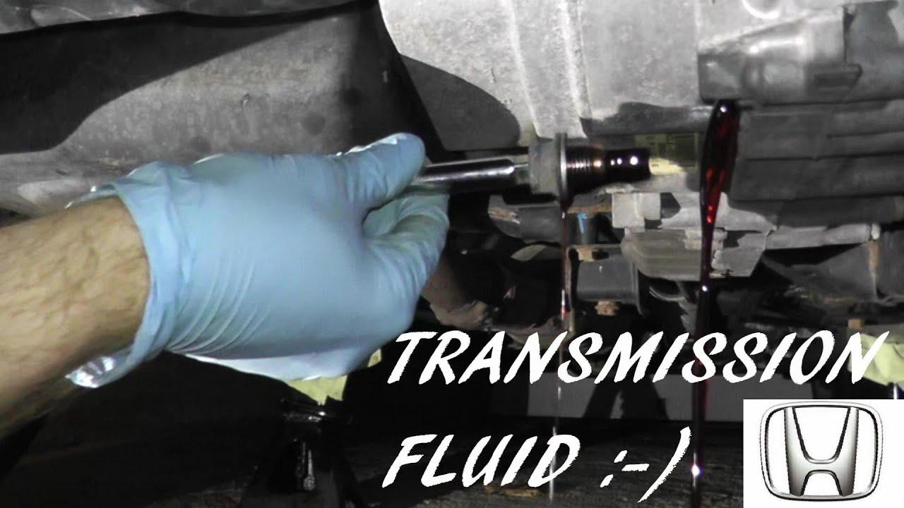 Amazing Honda Accord Automatic Transmission Fluid Change
